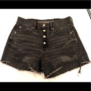 American Eagle High Rise Girlfriend Shorts